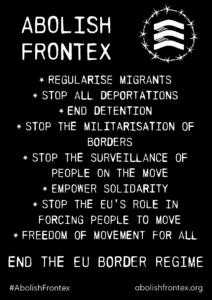 ENG_Poster with demands_Black_A1